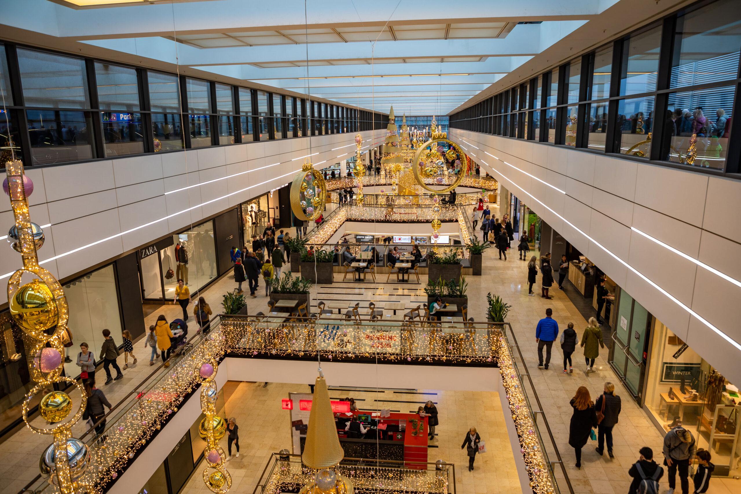 Arkady Pankrac kjopesenter Praha shoppingsenter