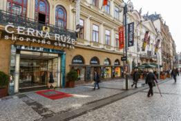 Cerna Ruze kjopesenter shoppingsenter Praha