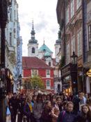 Karlova gate handlegate shopping Praha