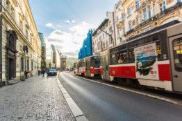 Praha kollektivt transport kollektivtransport trikk