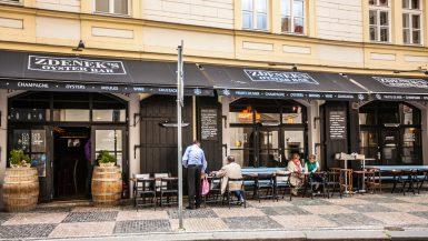 Mest populære restauranter Praha