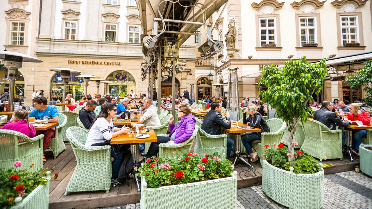 Turist i Praha tips