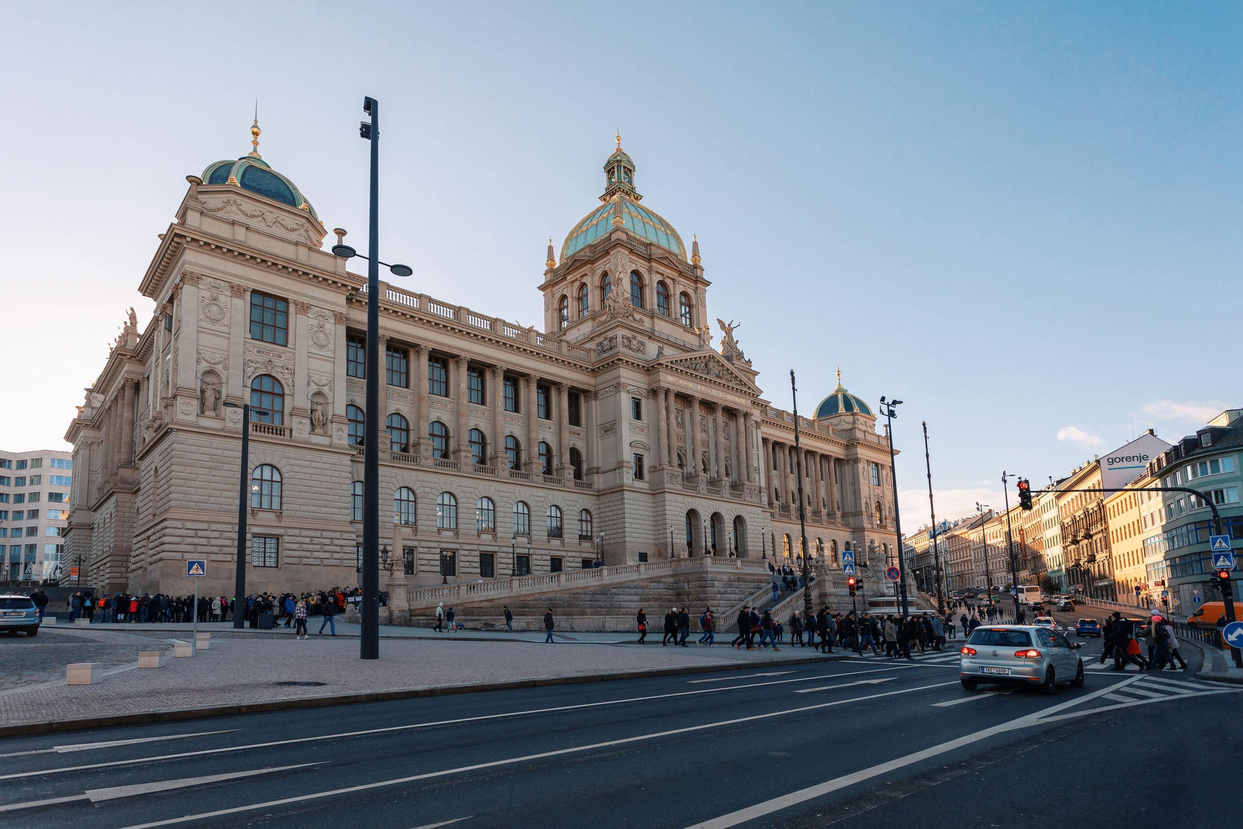 nasjonalmuseet Praha kunstmuseum attraksjon guide