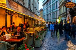 Praha restaurant uteliv priser prisnivå kostnad
