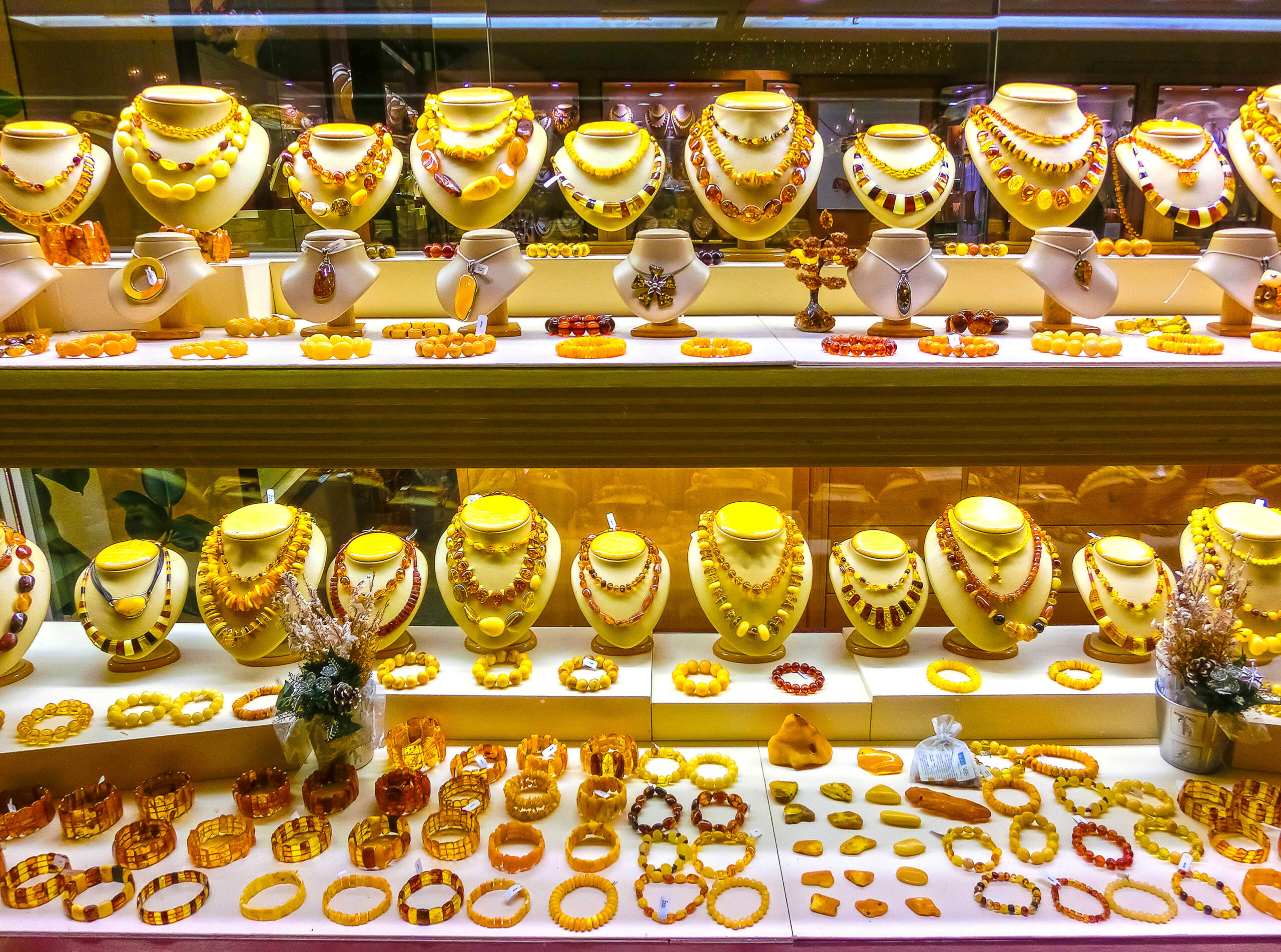 smykker rav Praha Tsjekkia halskjede smykkebutikk