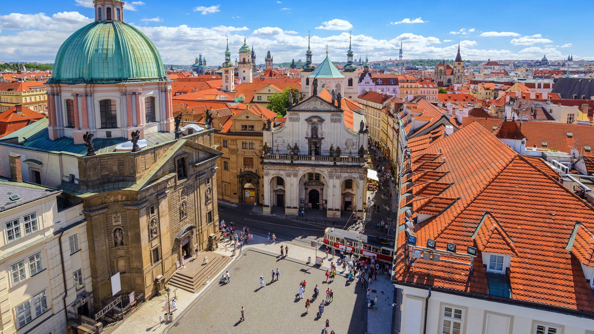 Kart Over Praha Prahatips